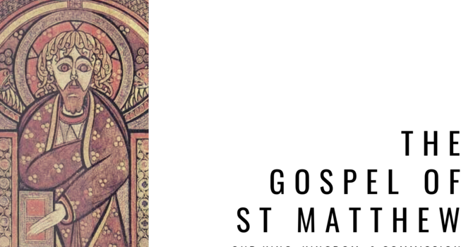 The Gospel of Jesus According to St. Matthew