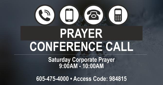 Saturday Morning Corporate Prayer
