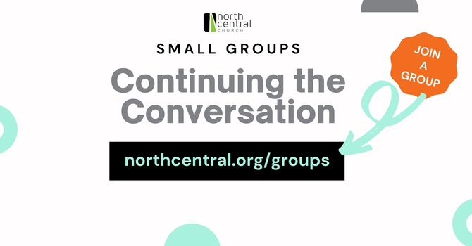 Small Groups Launch