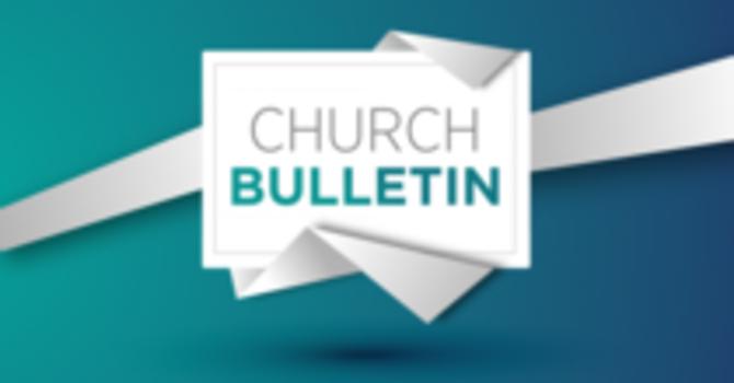 Bulletin 01-03-2021 image