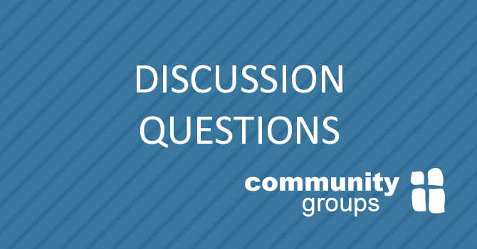 Community Group Discussion Questions image