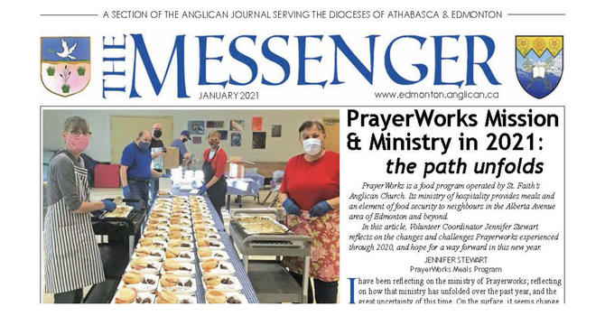 The January Issue of The Messenger is here! image