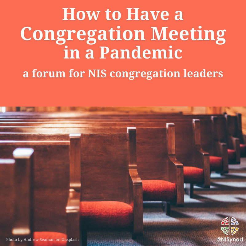 How to have a congregation meeting in a pandemic