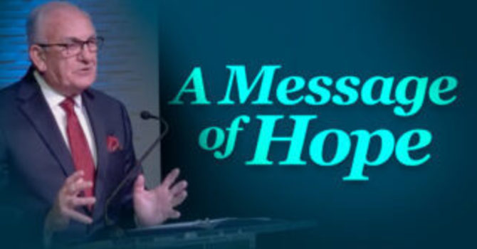 A Message of Hope image