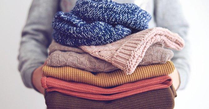 Coat & Sweater Drive image