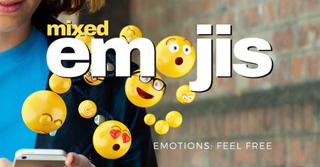 Mixed Emojis Series