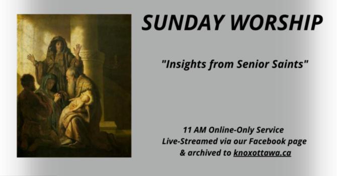 Insights from Senior Saints