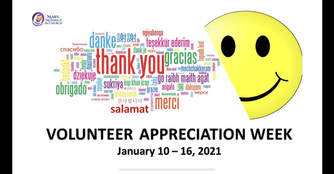 2021 Volunteer Appreciation Week - Invitation to Celebrate!!! image