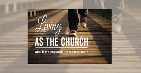 Living as the Church