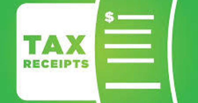 Tax Receipts Available image