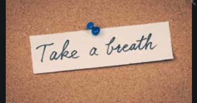 """Taking a Breath"""
