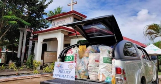 Support Philippines' Relief through PWRDF image