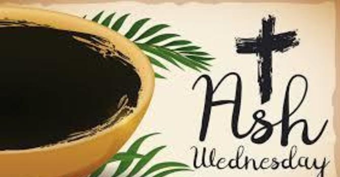 Ash Wednesday - February 26, 2020 image