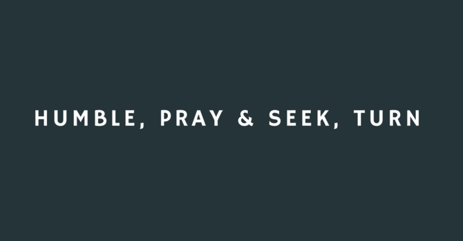 Humble, Pray & Seek, Turn image