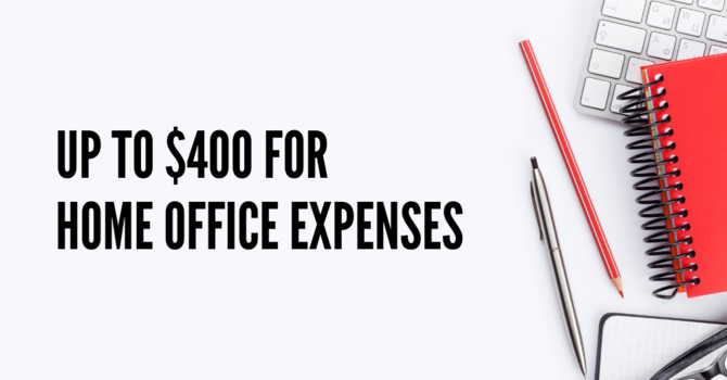Government of Canada to allow up to $400 for home office expenses image