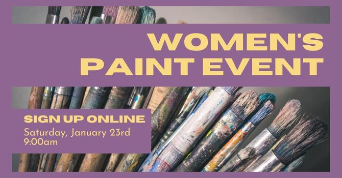 Women's Paint Event