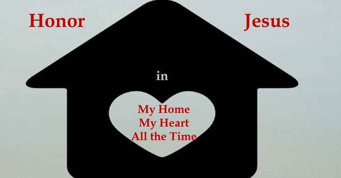 Honoring Jesus