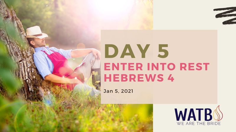Day 5 Bible Study w/Dr. June Knight - Hebrews 4
