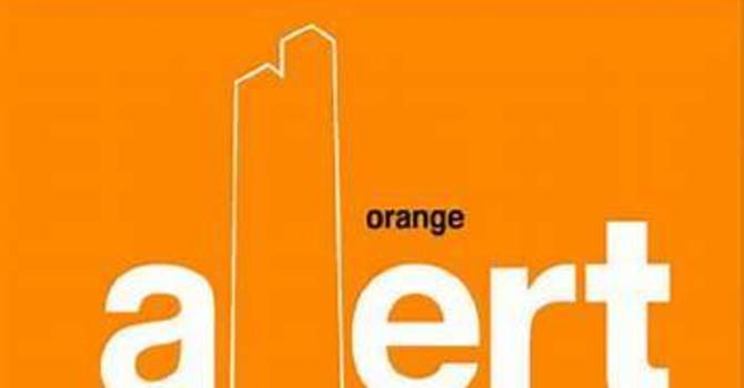 Returned to Orange Alert Phase! image