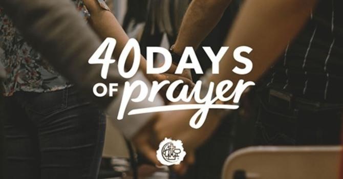 40 Days of Prayer - ZOOM
