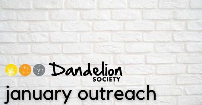 January Outreach: The Dandelion Society image
