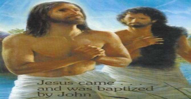 Worship Service Bulletin - Baptism of our Lord image