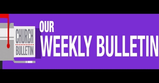 Weekly Bulletin | February 21, 2016 image