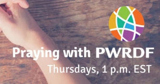Praying with PWRDF