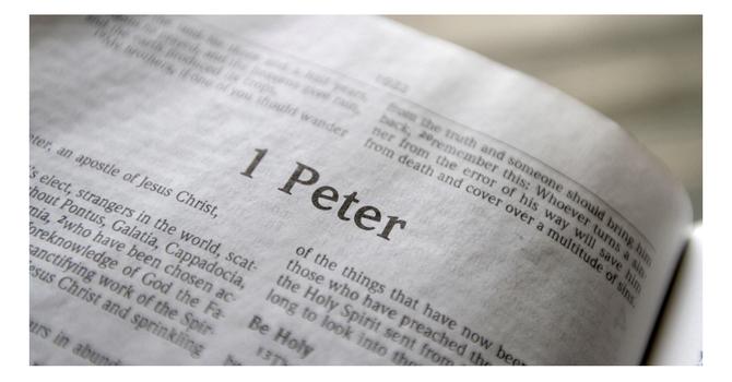 1 Peter 3 - Pastor Frances Allen