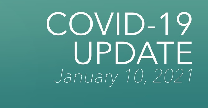 COVID-19 Update - January 10 image