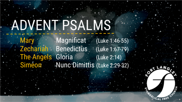 Advent Psalms