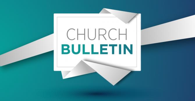 Bulletin 01/10/2021 image