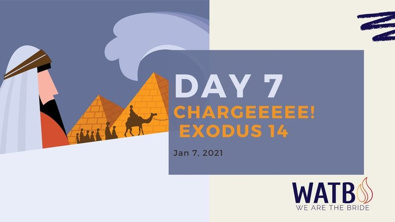 Day 7 Bible Study w/Dr. June Knight - Exodus 14