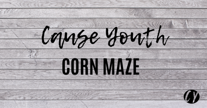 Youth Corn Maze