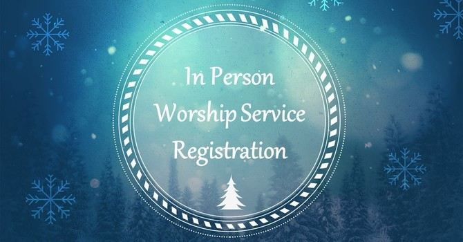 In-Person Worship Service Registration
