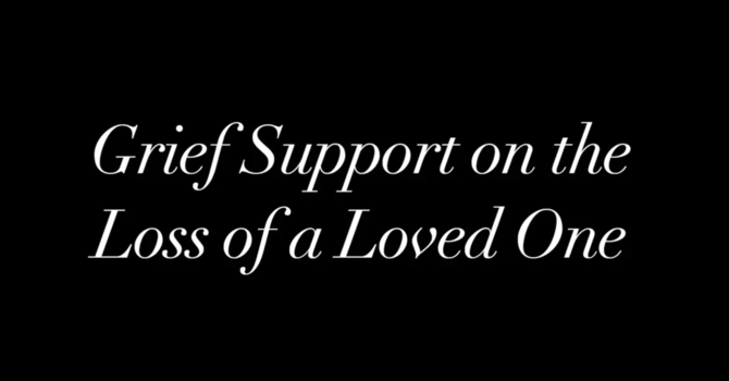Grief Support Seminar image