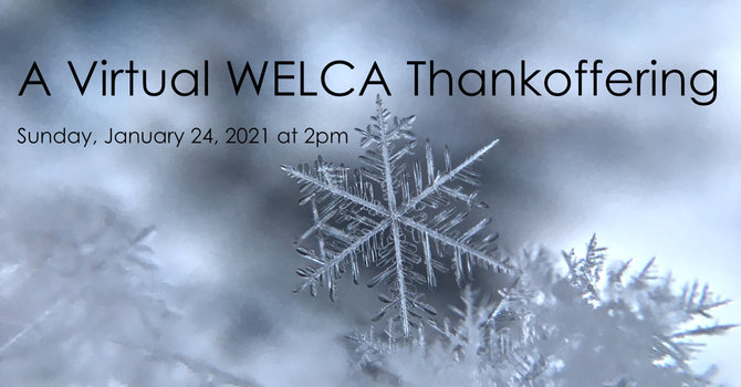 A Virtual WELCA Thankoffering