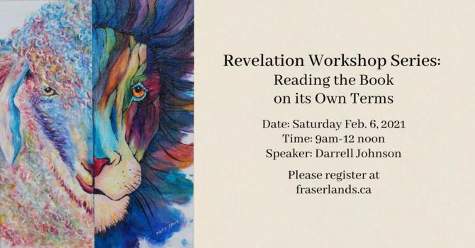 Revelation Workshop Series image
