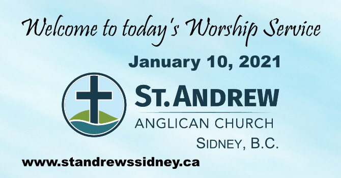 January 10, 2021 On-Line Sunday Service image