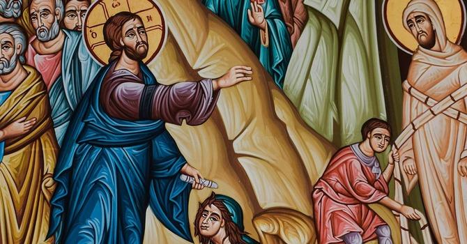 Unpacking Sunday's Sermon: Jesus Raises Lazarus image