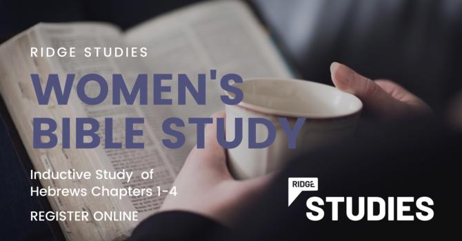 RIDGE Studies | Women's Bible Study