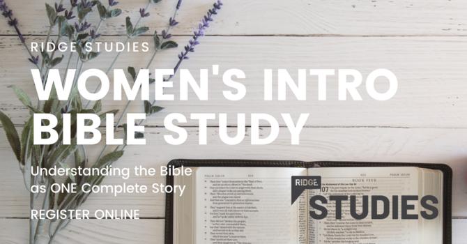RIDGE Studies | Women's Intro Bible Study