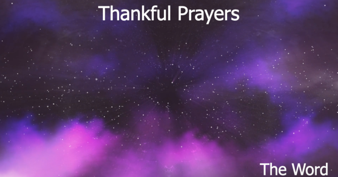 Thankful Prayers