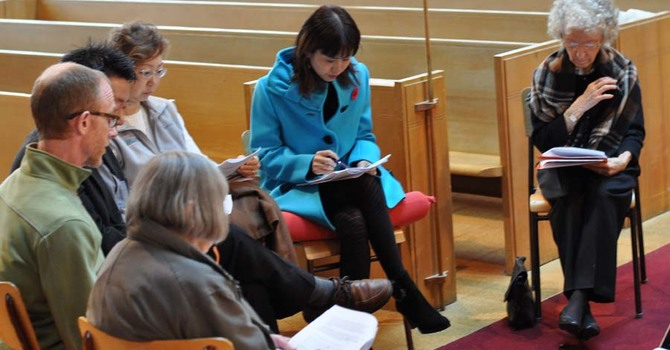 White Paper for Diocesan Reorganization and Restructuring Meeting in Burrard image