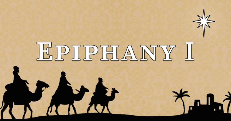 First Sunday after Epiphany, 10:00 A.M.