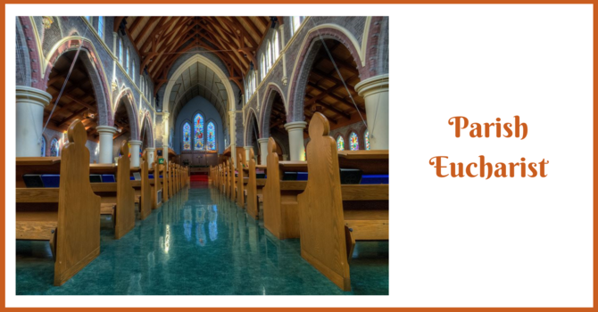 Parish Eucharist - The Baptism of the Lord image