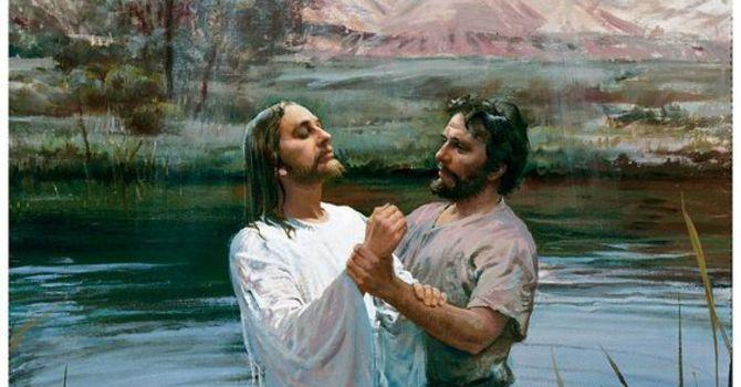 Baptism of Jesus, January 10, 2021