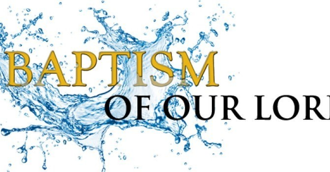 The Baptism of the Lord, Jan. 10, 2021