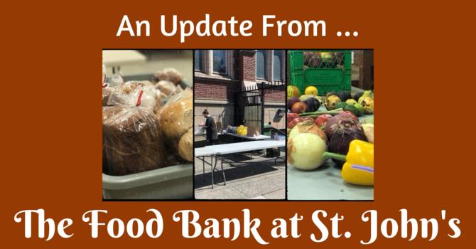 Food Bank Update image