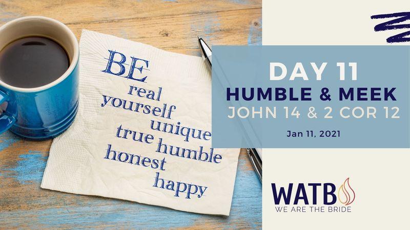 Day 11 Bible Study w/Dr. June Knight - John 14 & 2 Cor 12